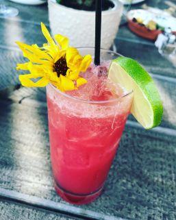 Passionfruit Mezcal Margarita at Auberge de Soleil